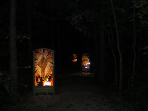 Kreuzweg am Waldfriedhof